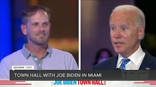 NBC News town hall with Democratic presidential nominee Joe Biden in Miami