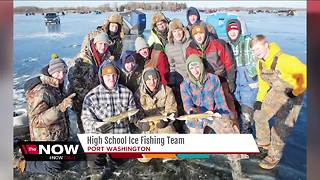 Port Washington High School Ice Fishing team gives kids new options