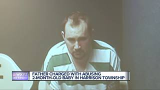 Baby's checkup leads to child abuse charges against metro Detroit father - Video