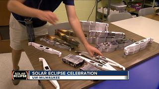 Clouds may block eclipse viewing, local events prepared - Video