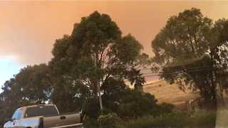 Smoke From California's Whittier Fire Fills the Sky - Video