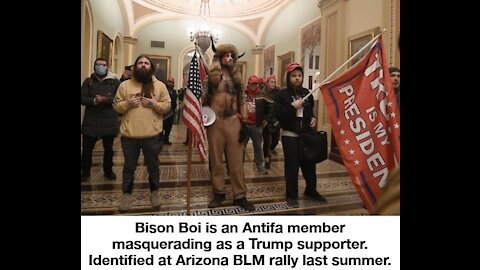 These are NOT Trump Supporters and This is No Siege