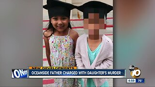 Oceanside father charged with daughter's murder