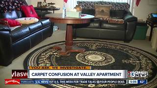 Carpet confusion at apartment complex for disabled senior - Video