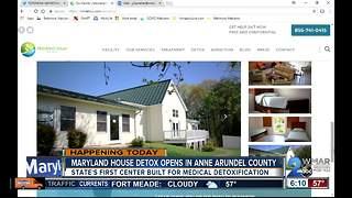 Maryland House Detox opens in Linthicum - Video