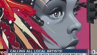 City of Las Vegas looking for artists - Video