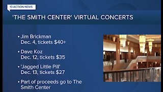 Smith Center hosting virtual holiday concerts