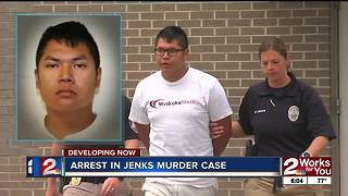 Suspect in Jenks killing in custody, police say - Video