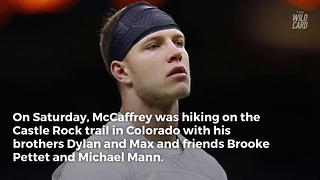 Panthers star Christian McCaffrey saves injured man's life - Video