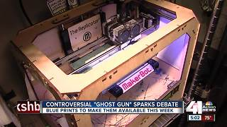 Ruling on 3D-printed guns opens door for easily accessible, untraceable firearms - Video