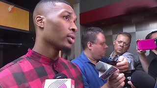Damian Lillard Reveals Which NBA All-Star He's Trying to Bring to Portland - Video