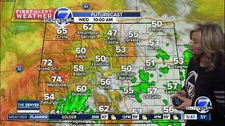 Wednesday forecast: A little warmer - Video