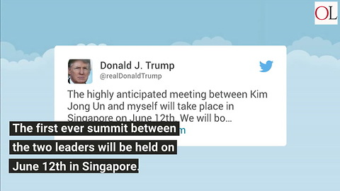 It's A Date! Trump To Meet Kim Jong Un