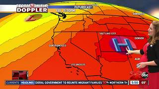Storm Shield Forecast morning update - Video