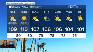 Excessive heat expected over the weekend