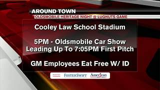 Around Town 8/23/17: Oldsmobile Heritage Night at Cooley Law School Stadium - Video