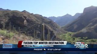 Tucson ranks top destination for winter travel - Video