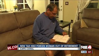Homeowners shocked after property tax hike