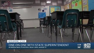 One-on-one with state superintendent