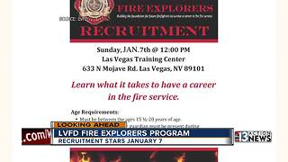 Las Vegas Fire and Rescue starts recruiting in January - Video