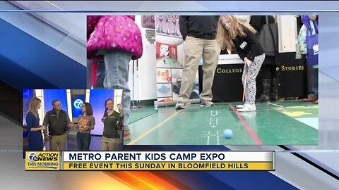Metro Parent Kids Camp Expo on Sunday