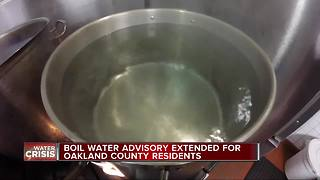Oakland County health officer: Don't drink water after boil water alert lifts - Video