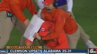 Clemson wins the National Championship - Video