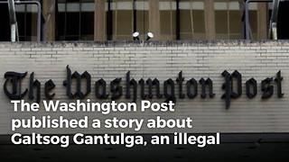 Washington Post Publishes Positive Story About Illegal Immigrant, Downplays Criminal Past - Video