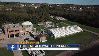 Mayville cleaning up after flooding aftermath