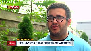 Just how long is that extended car warranty? - Video