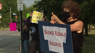 Protesters in Northeast Ohio push for change after police shoot Wisconsin man