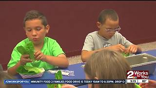 Muskogee students learn about Farm to School