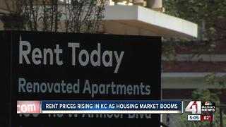 Rising rents in Kansas City has some concerned - Video