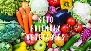 21 Keto Friendly Low Carbohydrate Vegetables