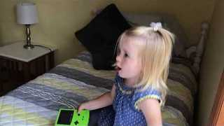 Toddler Still Can't Figure Out Game Boy