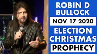 Robin D Bullock Prophet: Trump Will Win Election by Christmas!