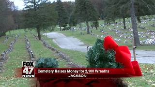 Cemetery raises money for 'Wreaths Across America' campaign - Video