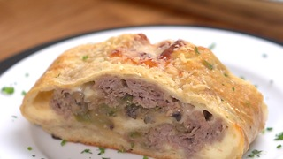 Steak And Cheese Stromboli - Video