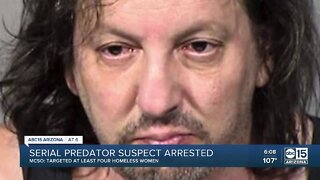 Serial predator suspect arrested in Phoenix