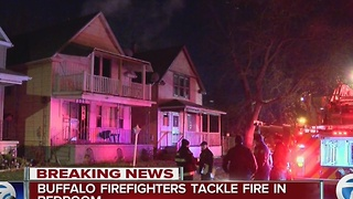 Fire damages Florida Street home early Monday