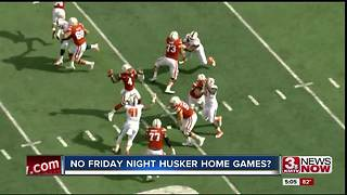 UNL chancellor: Huskers likely won't play any more Friday night games at home - Video