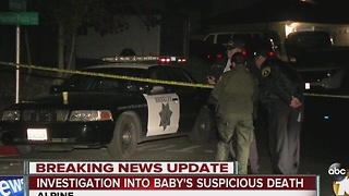 Investigation into baby's suspicious death - Video