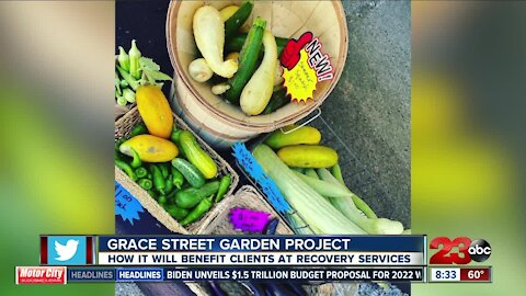 Live Interview: Recovery Services opens Grace Street Garden