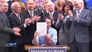 Appeals court upholds Wisconsin's right to work law - Video