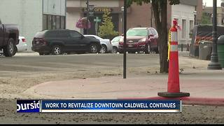 Road work brings new life into downtown Caldwell - Video