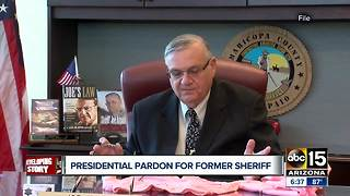 State officials react to pardon of former sheriff Joe Arpaio - Video