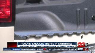 BPD reports a trend in tailgate theft - Video
