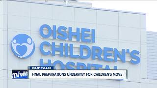 Final preparations underway for Children's move
