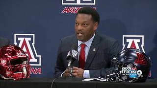 Kevin Sumlin introduced as University of Arizona's head football coach - Video