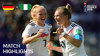 Germany v Nigeria - FIFA Women's World Cup, Round 16, France 2019™
